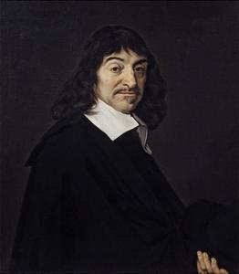 Portrait of Rene Descartes Philosopher. Ca. 1640 by Frans Hals