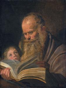 Saint Matthew, C.1625 by Frans Hals