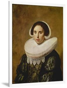Sarah Wolphaerts Van Diemen, about 1634 by Frans Hals