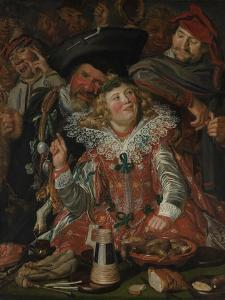 Shrovetide Revellers (The Merry Company) c.1615 by Frans Hals