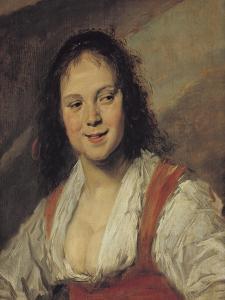 The Gypsy Woman, circa 1628-30 by Frans Hals