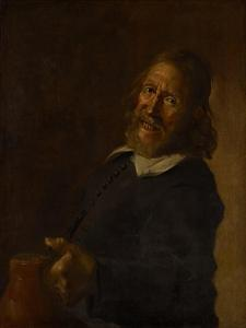 The Laughing Toper, 18th Century by Frans Hals