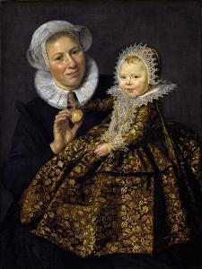 Catharina Hooft with Her Nurse by Frans I Hals