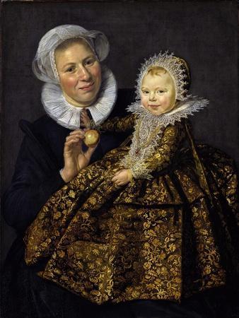 Catharina Hooft with Her Nurse