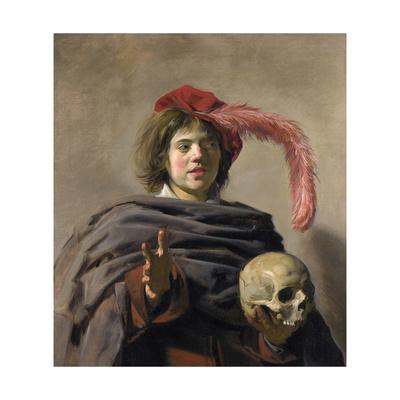 Young Man Holding a Skull (Vanita), 1627