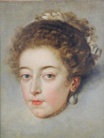 Portrait of Queen Henriette-Marie of France
