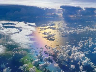 Monsoon Clouds over Ocean, Madagascar by Frans Lanting