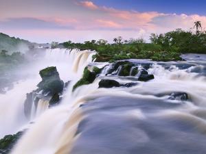 Waterfalls, Iguacu National Park, Argentina by Frans Lanting