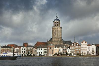Netherlands, Deventer, City Skyline