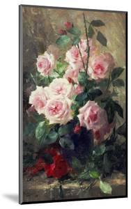 Still Life of Pink Roses by Frans Mortelmans