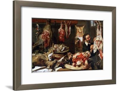 A Butcher Shop, 1630S