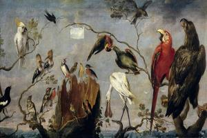 Frans Snyders / Concert of the Birds, 17th century by Frans Snyders