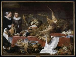 Le Cellier by Frans Snyders