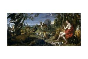 Orpheus and the Animals, Middle 17th century by Frans Snyders