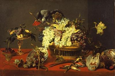 Still Life with Gray Parrot, c.1630