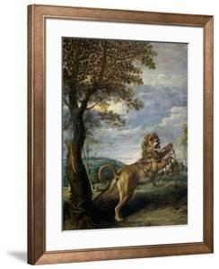 The Fable of the Lion and the Mouse by Frans Snyders