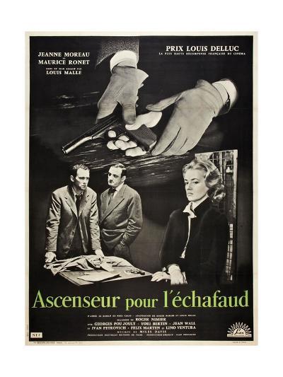 Frantic, 1958 (Ascenseur Pour L'Echafaud)--Giclee Print