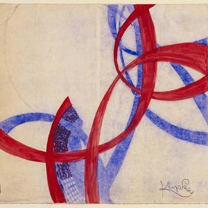 Amorpha Fugue in Two Colors II by Frantisek Kupka