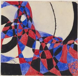Amorpha Fugue in Two Colors III by Frantisek Kupka