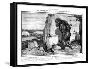 Neanderthal Man by Frantisek Kupka