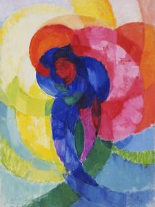 Red and Blue Disks by Frantisek Kupka