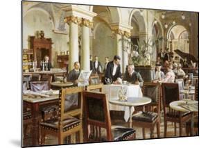 Industricafeen, 1906 by Frants Henningsen