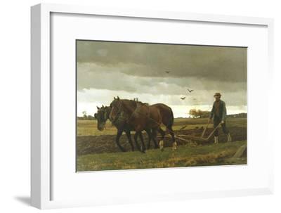 The Ploughman, 1880