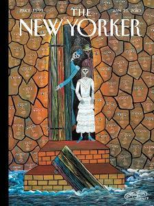 The New Yorker Cover - January 25, 2010 by Frantz Zephirin