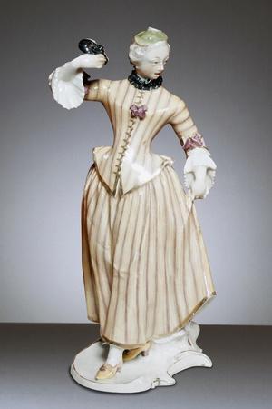 Columbine, 1758, Porcelain