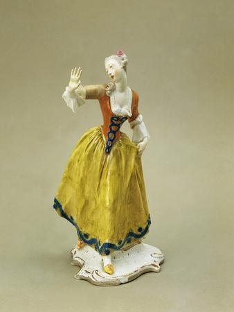 Leda, Character from Commedia Dell'Arte, Ca 1765