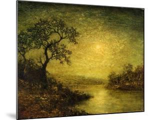 Moonlit Landscape by Franz Arthur Bischoff