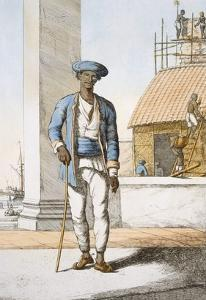 Sailor, from 'The Hindus, or the Description of their Manners, Costumes and Ceremonies', C.1808-12 by Franz Balthazar Solvyns