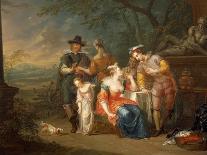 The Nativity, 1741-Franz Christoph Janneck-Giclee Print