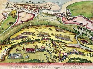 The Siege of Dieppe in 1589, 1589-92 by Franz Hogenberg