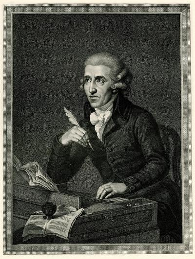 Franz Joseph Haydn, 1884-90--Giclee Print