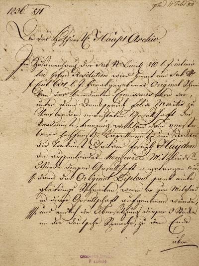 Franz Joseph Haydn's--Giclee Print