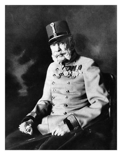 Franz Joseph I, Emperor of Austria, King of Hungary--Giclee Print
