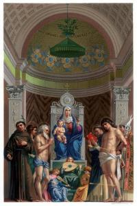 San Giobbe Altarpiece, C1478 by Franz Kellerhoven