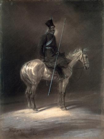 Cossack on Horseback, 1837