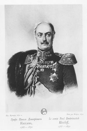 Count Pavel Dmitrievich Kiselyov