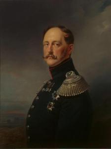 Nicholas I, 1852 by Franz Kruger