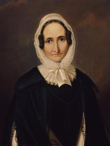 Portrait of Albertine Von Motz, after 1827 by Franz Kruger