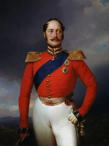Portrait of Emperor Nicholas I, (1796-185), 1847 by Franz Kruger