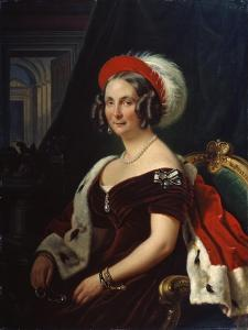Portrait of Queen Frederica of Hanover, (1778-184), 19th Century by Franz Kruger