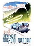 Corsa Bolzano to Mendola-Franz Lenhart-Giclee Print