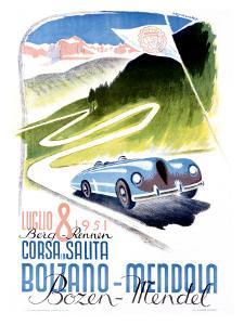 Corsa Bolzano to Mendola by Franz Lenhart