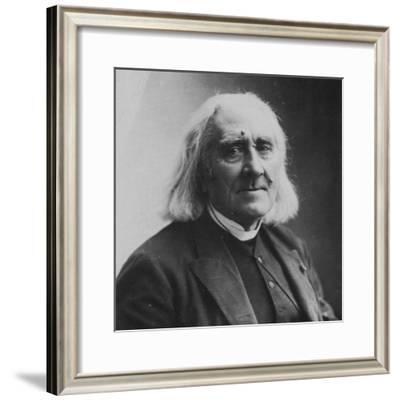Franz Liszt, Hungarian Composer and Pianist, 1886-Felix Nadar-Framed Giclee Print