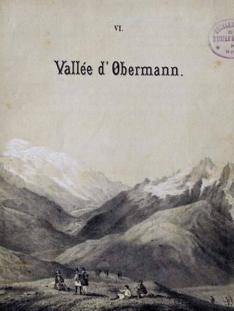 Title Page of Score for Obermann's Valley