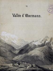 Title Page of Score for Obermann's Valley by Franz Liszt