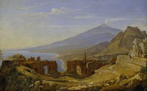 The Theatre of Taormina, 1818 (?) by Franz Ludwig Catel
